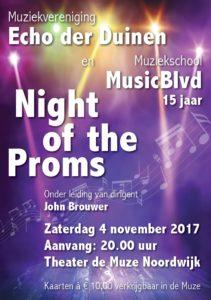 Night of the proms met de Echo der Duinen @ De Muze Noordwijk