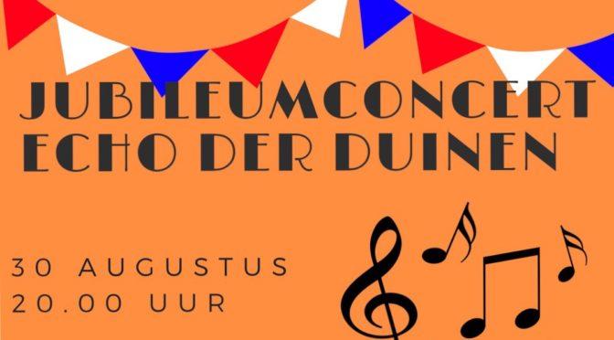 Echo der Duinen geeft een uniek optreden tijdens Noordwijkse feestweek